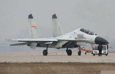 China J 16 fighter