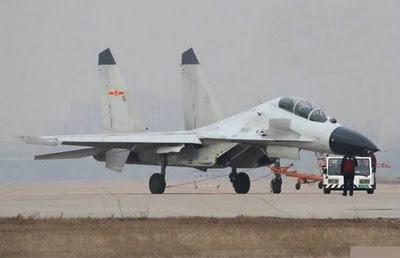China J 16 fighter