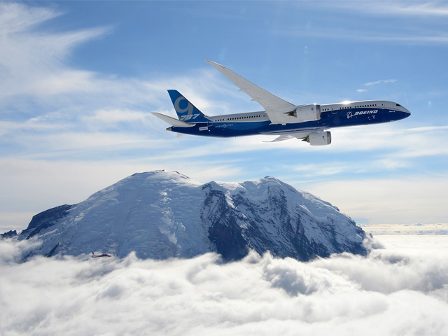 787-9の初飛行