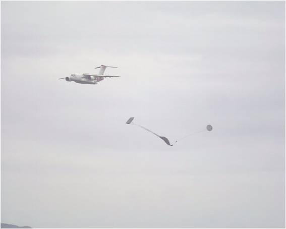 C-2貨物投下試験