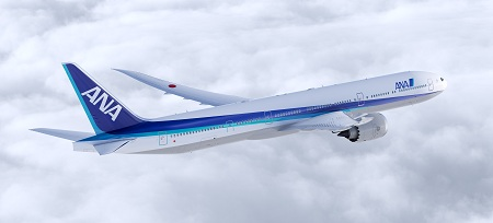 ANA 787-9 Artwork