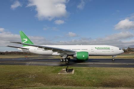 Turkmenistan 777-300ER