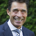 Portraits of NATO Secretrary General Anders Fogh Rasmussen