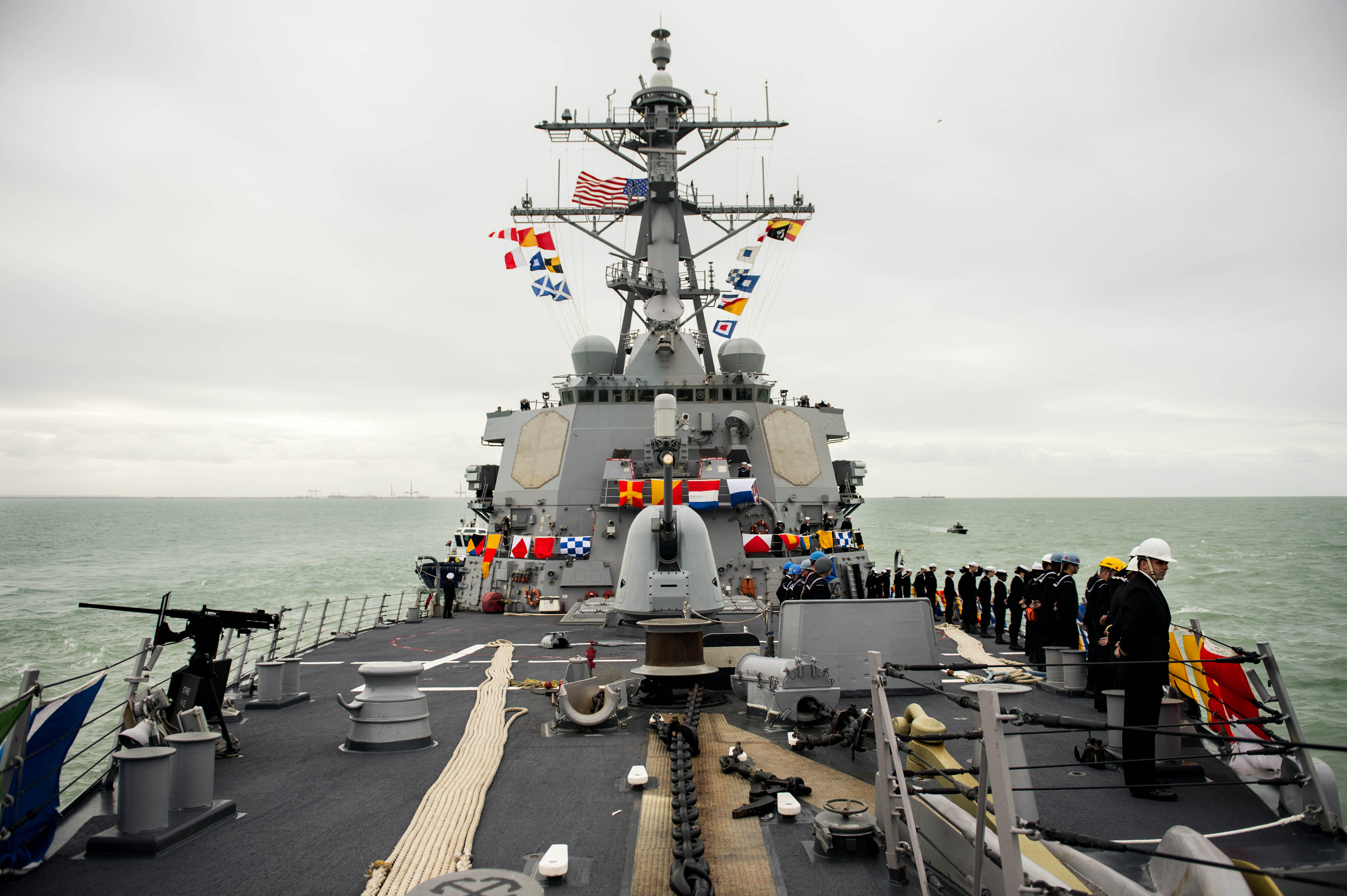USS Donald Cook arrives in Rota