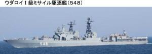 露海軍ウダロイ級