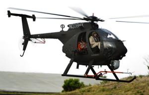 AH6X First Flight