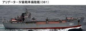 ありゲータIV級揚陸艦