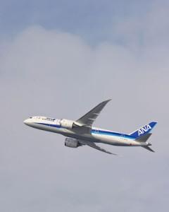 SROV activity for 787 in Japan.787 Itami flight K65351