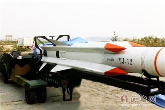YJ-12超音速ミサイル