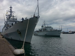 NATO ships enter Black Sea
