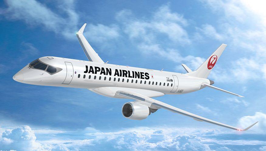 三菱MRJ:JAL