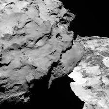 彗星の首部分