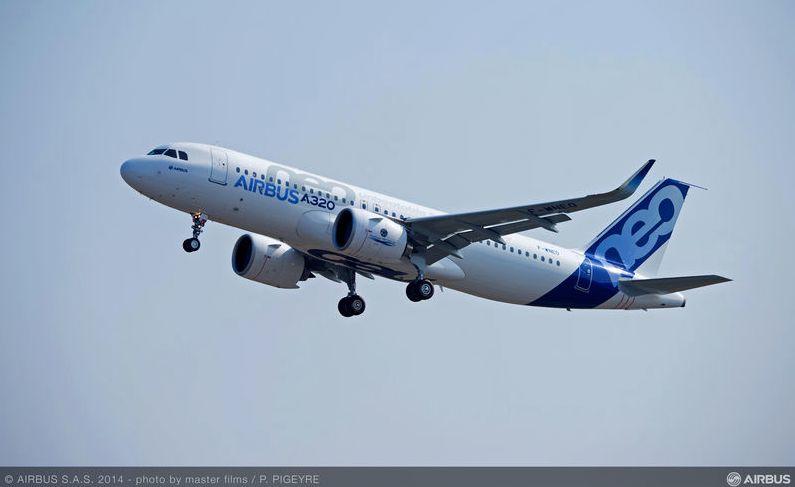 A320neo飛行