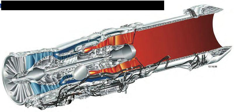PW F135エンジンカットビュー