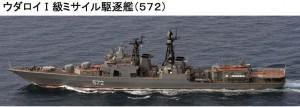 ウダロイI級駆逐艦572