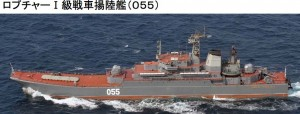 ロプチャーI揚陸艦055
