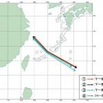 7日の中国機航跡