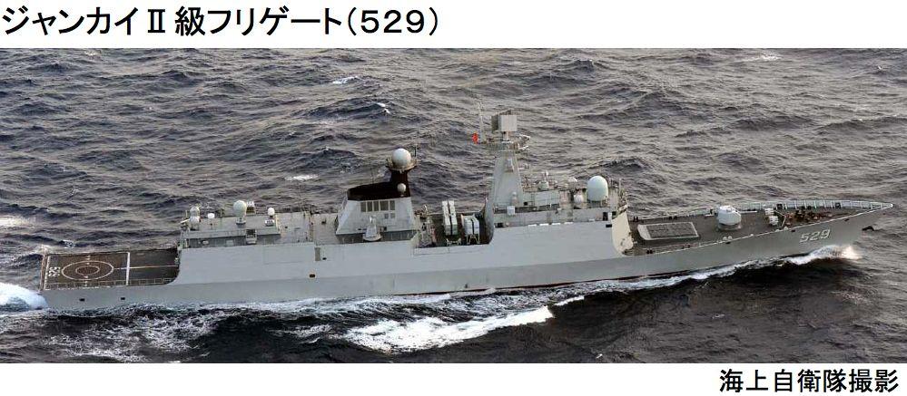 ジャンカイII級フリゲート529