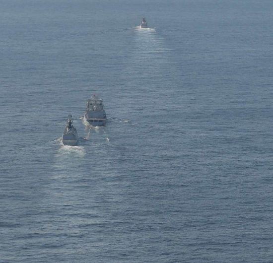 中国艦隊1