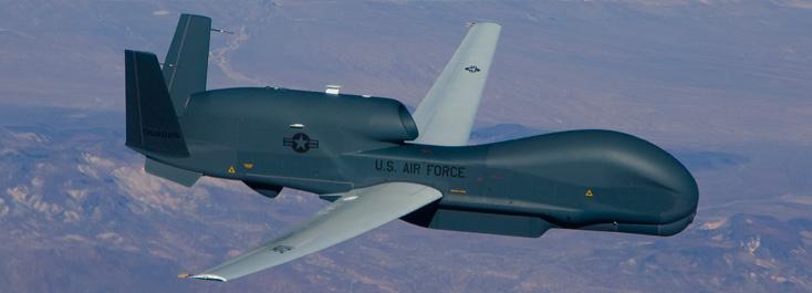グローバルホーク無人機