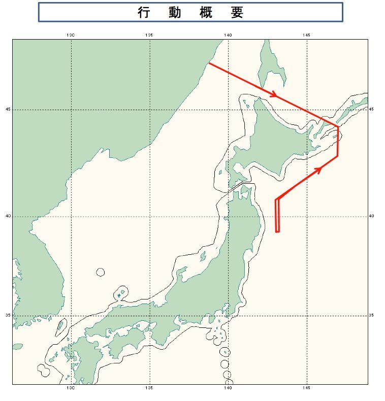2:7 Il-20航跡