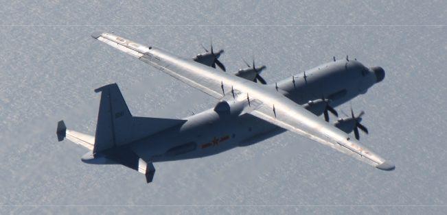 Y-9機15日
