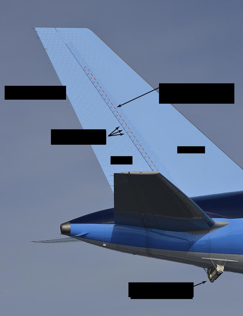 垂直尾翼のAFC