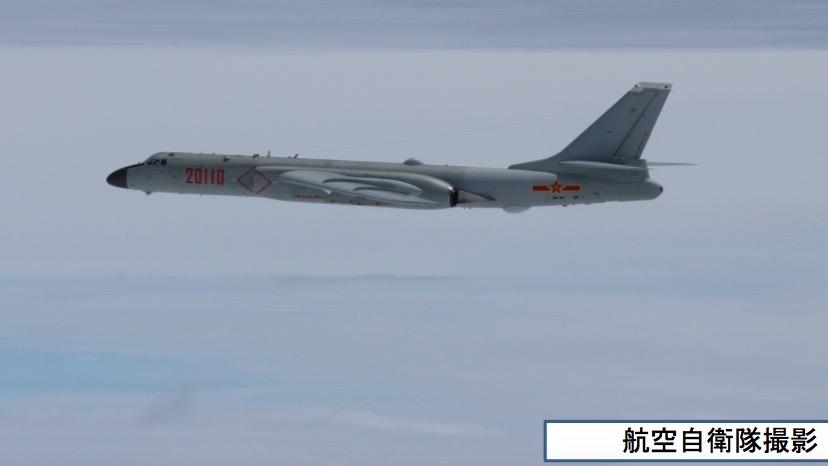 中国H-6 21日