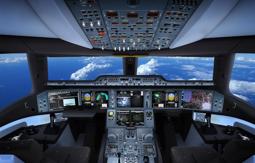 A350コクピット