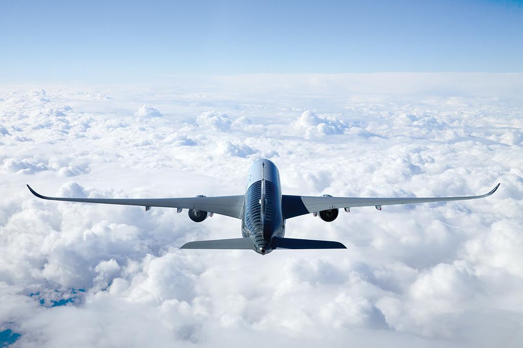 A350主翼の姿