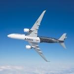 A350飛行中