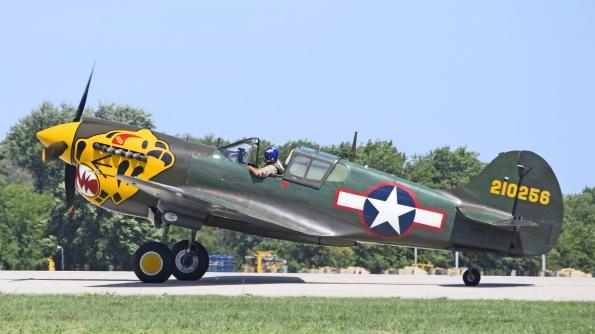 P-40戦闘機