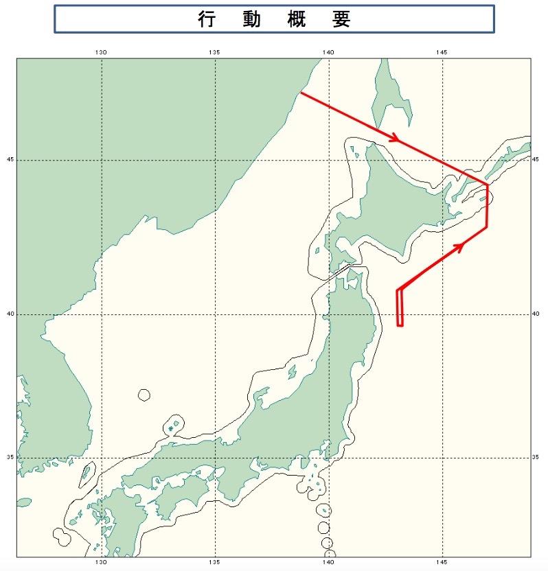 07-03ロシアIL-20航跡
