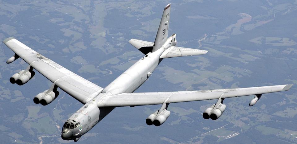 B-52H飛来