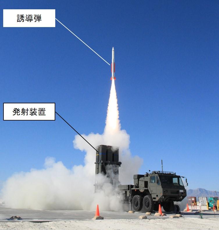 03式対空誘導弾試験2014-07~10