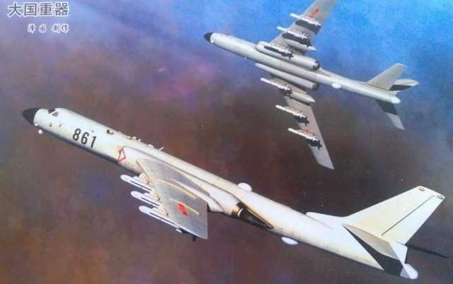 H-6K-bomber-6x-CJ-10K-Land-Attack-Cruise-Missiles