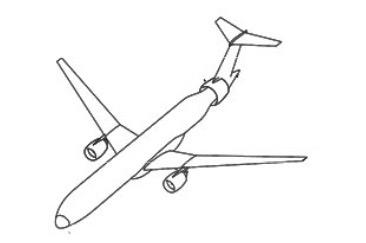 胴体尾部エンジン案