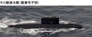 キロ潜水艦20日