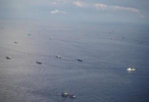 尖閣中国漁船