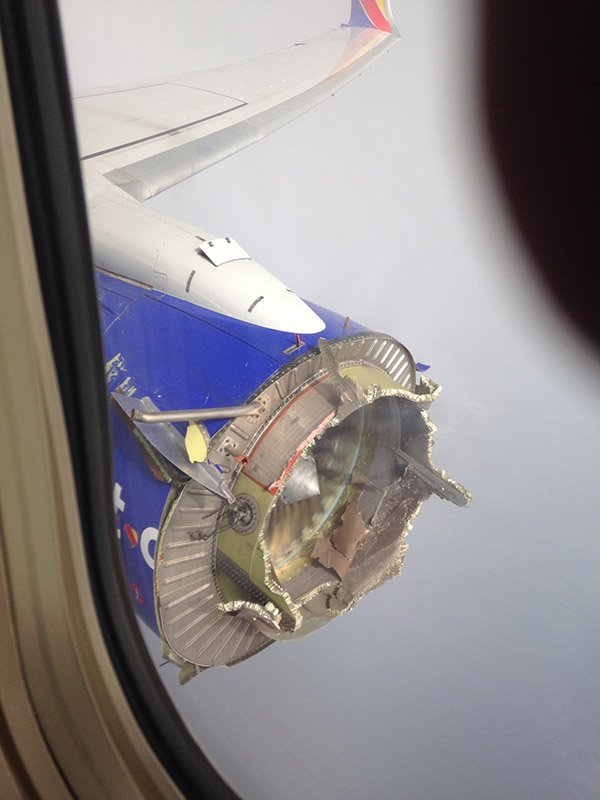 サウスウエスト航空1380便エンジン爆発事故
