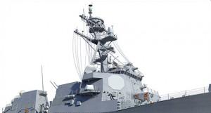 イージス艦レーダー