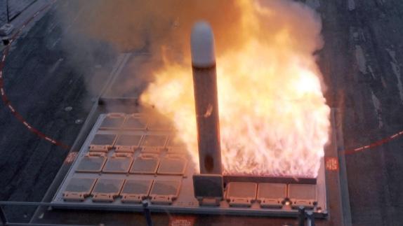 トマホーク発射