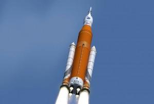 NASA SLS想像図