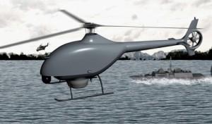 Airbus VSR700無人ヘリ