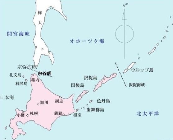 17-07 宗谷岬と北方4島のコピー