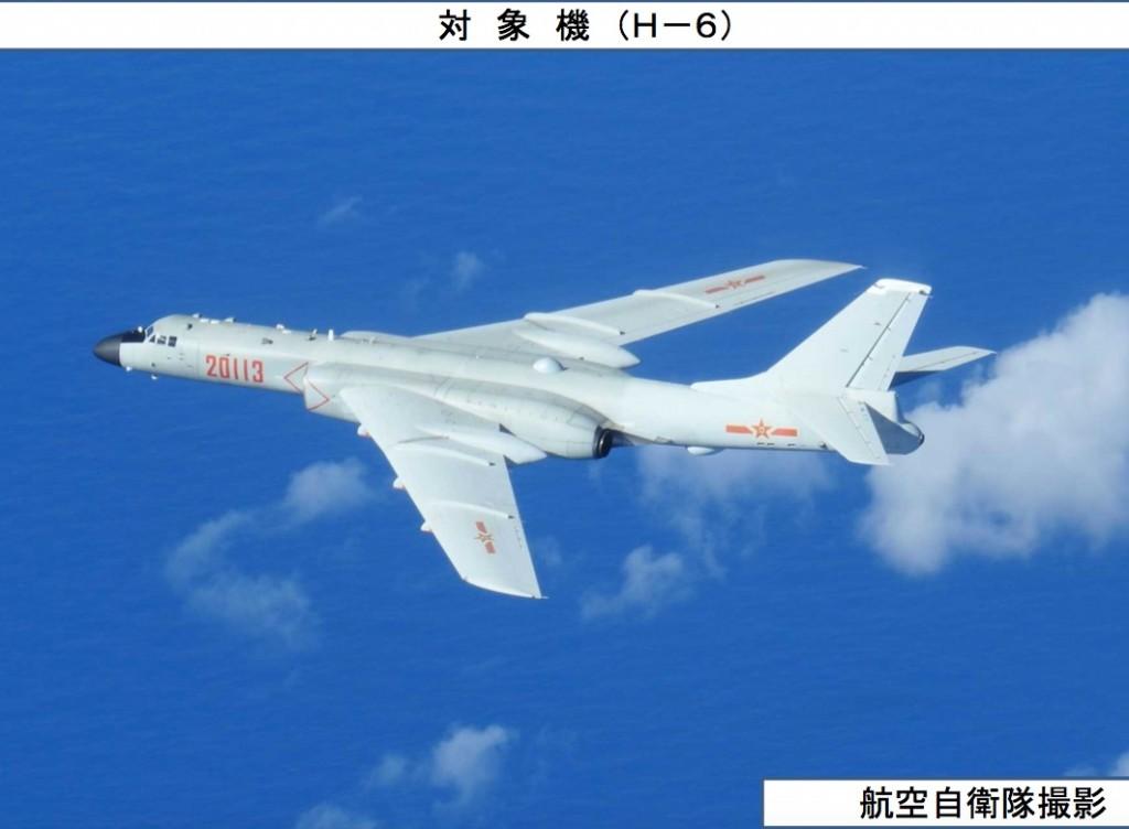 08-24 中国H-6 爆撃機