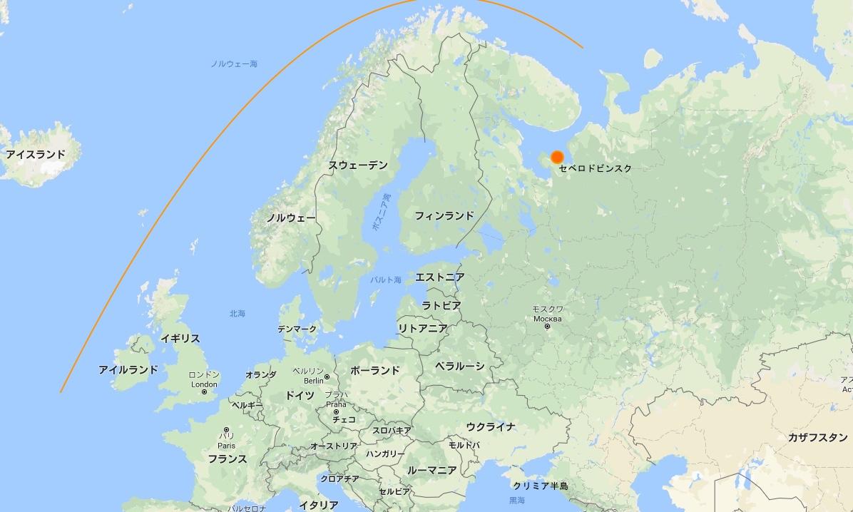 ロシア西部と欧州