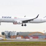 イラン航空A321 1番機