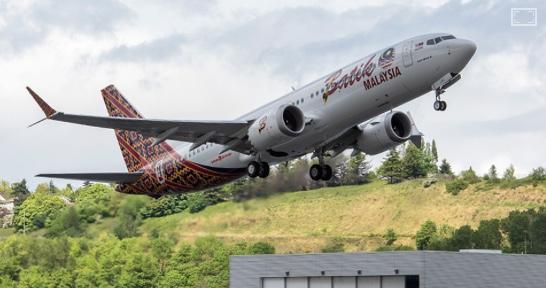 737MAX引渡し