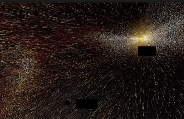太陽風イメージ